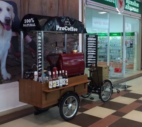 Новый бизнес на кофе байках